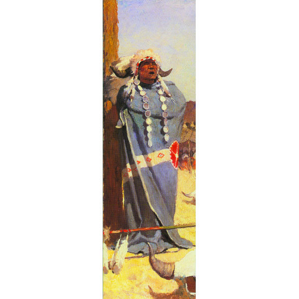 Bookmark_Wyeth-InvocationoftheBuffalo