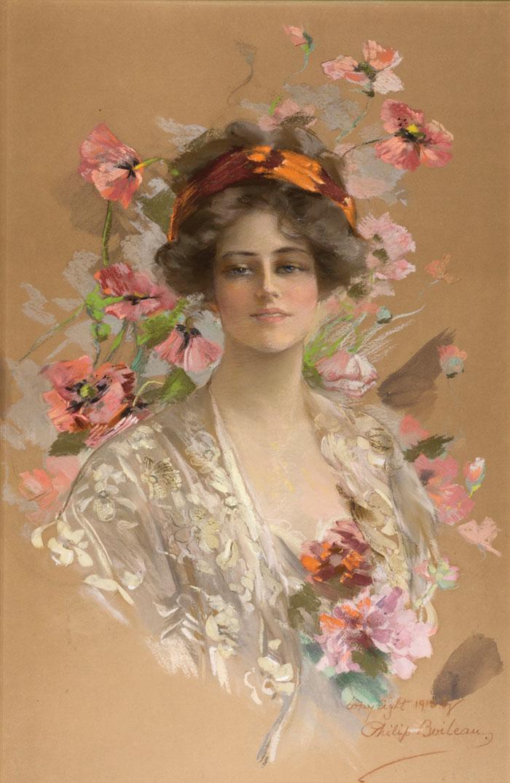 Boileau_Woman-With-Flowers_em_CMYK