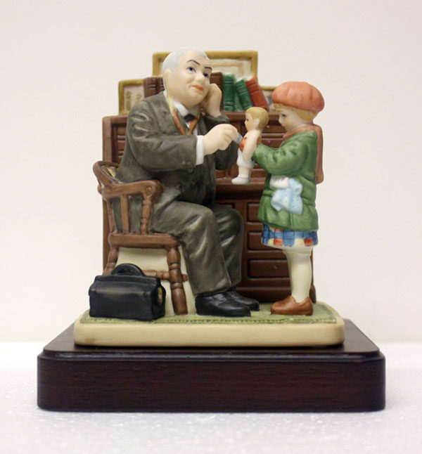 Doctor-with-doll_NormanRockwell