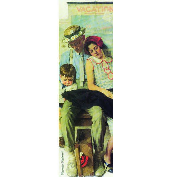 Bookmark_Rockwell-FamilyHomefromVacation